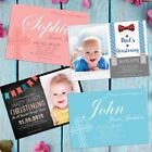 Personalised Christening Card for Boys Girls Godmother Godfather Invitations