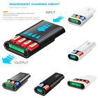 USB LCD Smart Charger 2/3/4x 18650 Battery Charger Box DIY Power Bank Case Shell