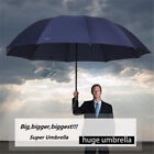 "60"" Super Big Fold Anti-UV Business Umbrella Men Women Rain Windproof Umbrella"