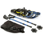"""19"""" Kid's Snowshoes Aluminum w/ Carry Bag and Trekking Poles for Kids"""