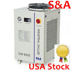 S&A CW-6000 Industrial Water Chiller for 100W Solid-state Laser / 30W-300W Fiber