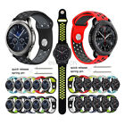 Silicone Sport Wrist Band Watch Strap For Samsung Gear S3 Classic / Frontier image