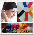 Soft Stretch Headbands Yoga Softball Sports Hair Band Wrap Sweatband Head