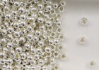 Sterling Silver 4mm Seamless Round Spacer Beads, .067
