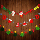 3M Christmas Bunting Hanging Garland Banner String Party Flags Home Decoration