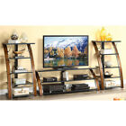 """Whalen Entertainment Center 70"""" TV Stand and/or audio video tower Cherry NEW"""