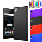 For Sony Xperia L1 - Armour Hard Shell Case Back Plastic Cover + Screen + Stylus