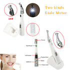 Dental Cordless Endo Motor With/Without 2 LED Holder Root Canal Treatment 16:1