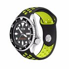 22mm Sport Silicone Watch Strap Band Bracele for Diver Scuba SKX007 fit 22mm Lug