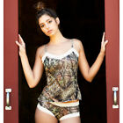 Mossy Oak Break-Up Camo Country Lace Trimmed Camisole    XL