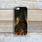 Ultra Slim Halloween Patterned Rubber Soft TPU Back Case Cover for iPhone 8 7 6s