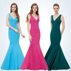 Women's Long Mermaid V-neck Formal Evening Party Dresses Prom 08290 Ever-pretty