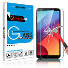 2Pcs 9H Premium Clear 100% Real Tempered Glass Screen Protector Film for LG G6
