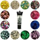 Dance Kit - 13ml Glitter Fix Gel + Chunky Mixed Glitter Pot Face Painting Party