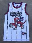 NBA Toronto Raptors Vince Carter 15 Throwback Jersey Sewn Stitched NWT