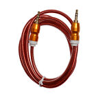 3.5mm Auxiliary Aux Male to Male Stereo Audio Cable Cord iPod Car MP3 PC