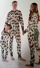 US Xmas Family Matching Christmas Pajamas Set Adult Baby Kid Sleepwear Nightwear