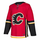 Calgary Flames Adidas NHL Men's Climalite Authentic Team Hockey Jersey $129.95 USD on eBay