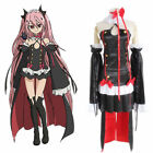 Japanese Anime Seraph of the end Lolita Krul Tepes Cosplay Costume with Haedwear