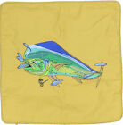 Embroidered Cushion Pillow Cover Marine Art Throw Pillow Mahi