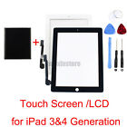 Wholesale Touch Screen Glass Digitizer LCD for iPad 3 4 Gen A1458 A1460 A1459