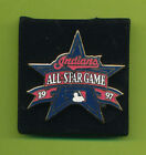 "1-1/4 x 1-1/4"" Cleveland Indians 1997 All Star Game Enamel Lapel Pin"