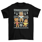 Ugly Sweater Christmas T-Shirt Funny TV unisex Gingerbread New