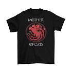 Game of Thrones Mother of Cats T-Shirt Unisex Cotton Sizes Dragons Khaleesi New image