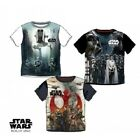 Boys Star Wars T Shirt Official Rogue One Kids Top Tee Age 3-10 Stormtrooper New £5.99 GBP