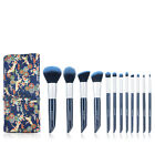 12PCs Beauty Makeup Brushes Sets Eyeshadow Brow Lip Makeup Brush Tools With Case