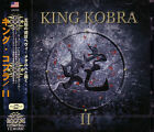 KING KOBRA II + 1 JAPAN CD Paul Shortino Carmine Appice Rough Cutt Cactus U.S.HR