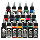 OPHIR 30ML/Bottle 12 Color Temporary Tattoo Airbrush Inks for body art paint