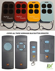 NEW Hormann/Garador Blue Button Replacement Fob - For 868MHz Freq CE Approved