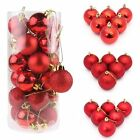 48X Christmas Tree Large Balls Decoration Baubles Party Wedding Hang Ornament US