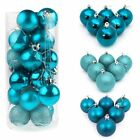 48X Christmas Tree 30MM Balls Decoration Baubles Party Wedding Hang Ornament