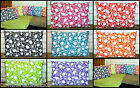 2 x FILLED TULIP SCATTER PILLOWS WATERPROOF FABRIC GARDEN FURNITURE WASH OR WIPE