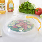 New Food Multifunction Splatter Guard Microwave Hover Anti-Sputtering Cover US