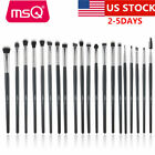 US 20 pcs/Set Eye Shadow Eyeliner Makeup Brush Set Eyebrow L