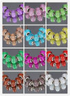 FREE 5Pcs Silver MURANO GLASS BEAD LAMPWORK Fit European Charm Bracelet  13Color