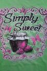 SIMPLY SWEET GREAT SMOKY MOUNTAIN  T-SHIRT ~ SIMPLY S T-SHIRT ~ SIZE SELECT