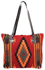 El Paso Saddle blanket Hand Woven Wool PURSES/BAGS/TOTES  EXTRA LARGE! ZIPPERS