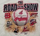 Cleveland Indians ROAD TO THE SHOW Tee T-Shirt Minor Major League Adult Size