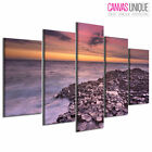 PC919 Giants Causeway Ocean Photo Scenic Multi Frame Canvas Wall Art Print