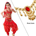 Belly Dance Children Indian Costume Set 6 piece Bollywood Dance Costume for Girl