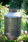 Ornate Etched Garden Lantern/Candle Holder - Perfect for Home or Garden