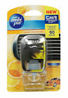 AMBI PUR CAR AIR FRESHENER, AQUA~ AFTER TOBACCO~ VANILLA BOUQUET~ SWEET CITRUS