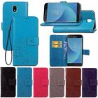 For Samsung Galaxy J3 J5 J7 Pro 2017 Luxury Flip Leather Case Cover Wallet Pouch