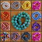 """VD1206-1217 12mm Wholesale Fire Agate Ball Loose Beads 14.5"""""""