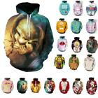 3D Graphic Printed Unisex  Hoodie Sweater Sweatshirt Pullover Tops Fashion