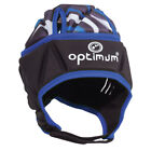 Optimum Razor Kids Rugby Headguard Scrum Cap Black/Blue